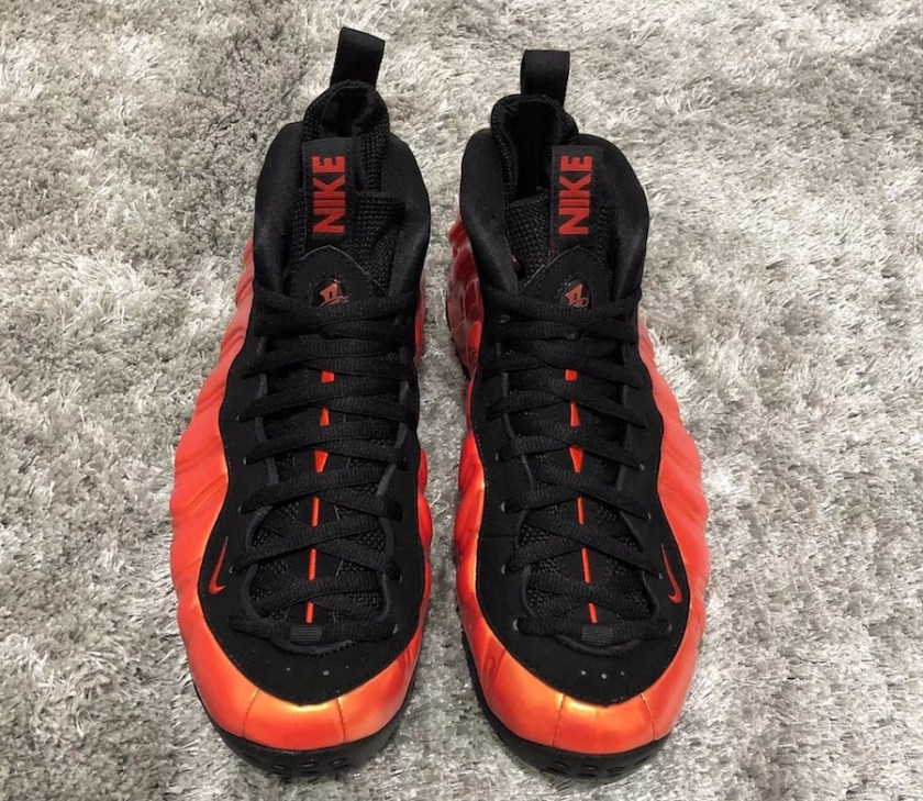 Nike Air Foamposite One with heel and shank plate