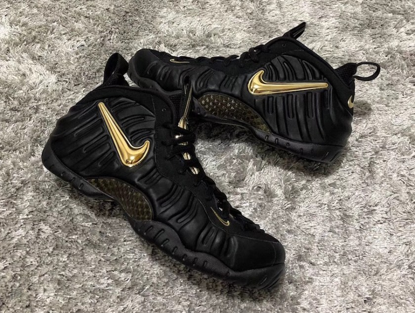 Nike Air Foamposite Pro with its unique detailing and exquisite branding