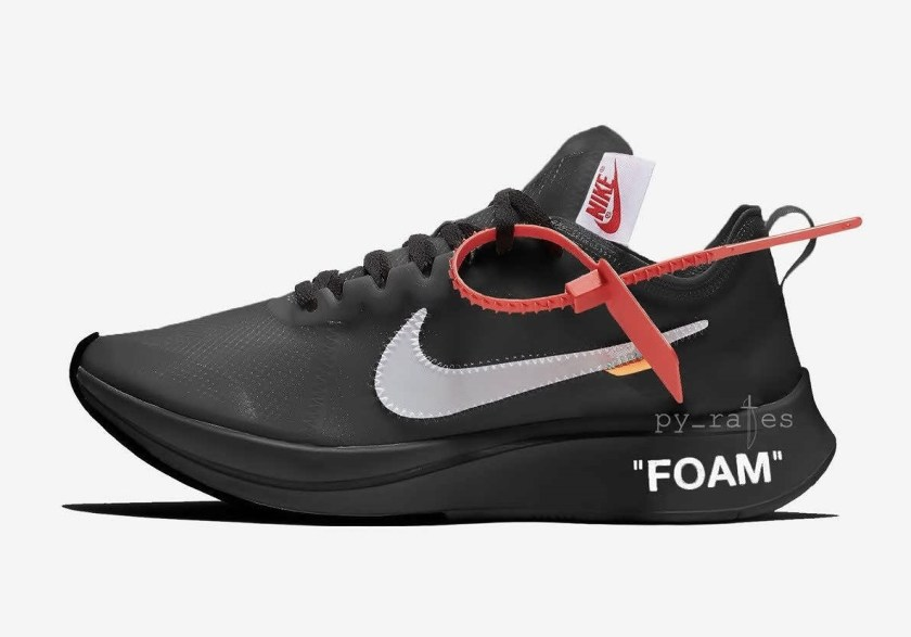 Off-White x Nike Zoom Fly with Great design