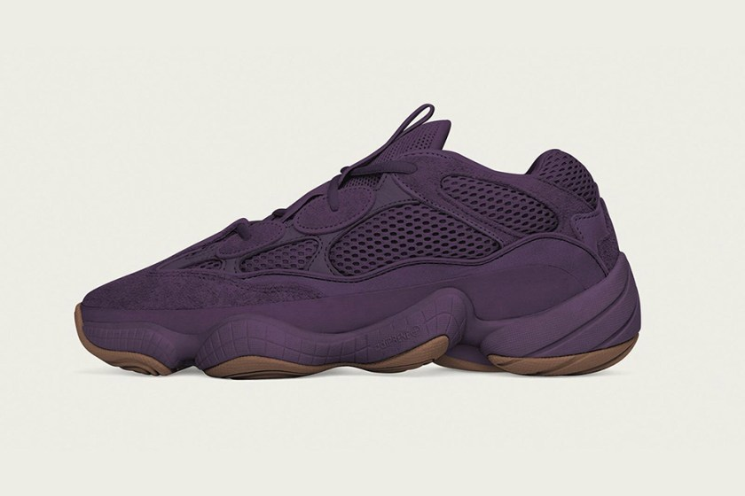Adidas Yeezy 500 Ultraviolet with Premium quality construction