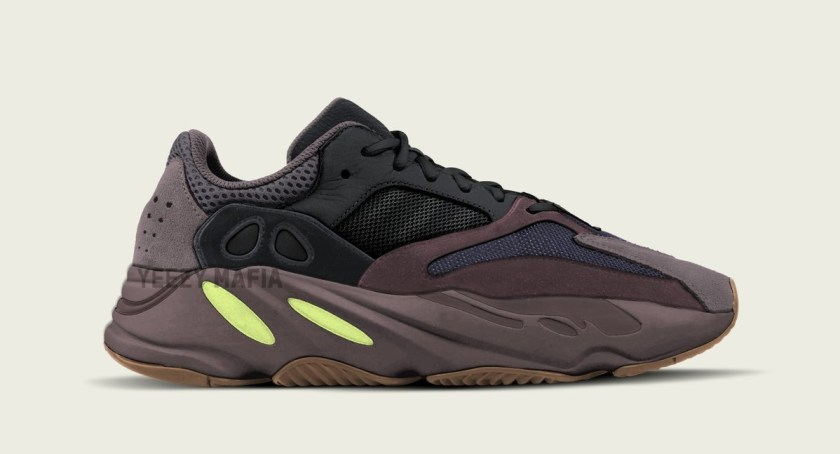 Adidas Yeezy Boost 700 with Neon yellow accents