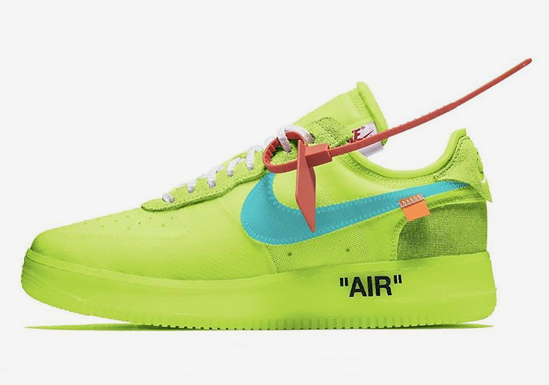 Nike x Off-White Air Force 1 Low with Incredibly designed
