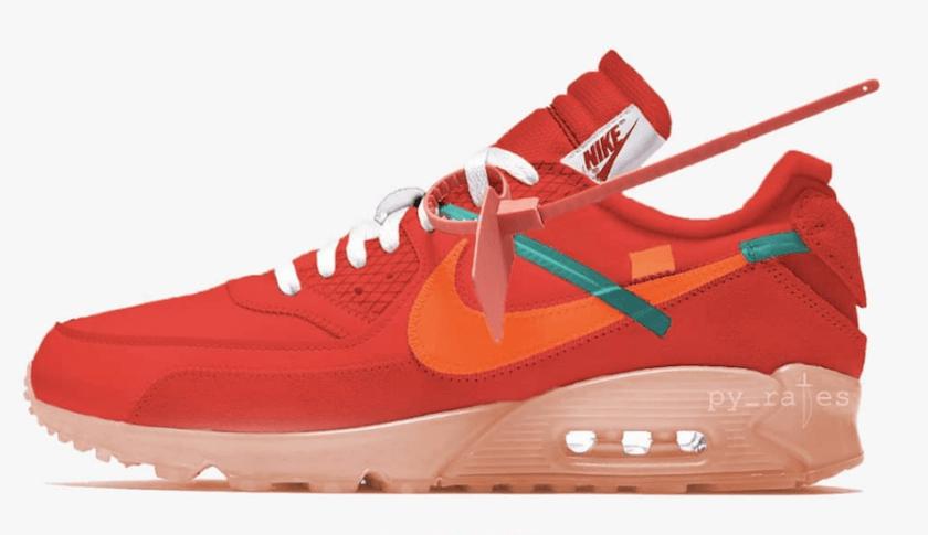 Nike Air Max 90 Is Floral in Team Red Colorway | HYPEBAE