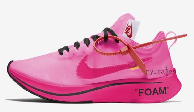 Off-White + Nike Zoom Fly SP with Beautiful colorway