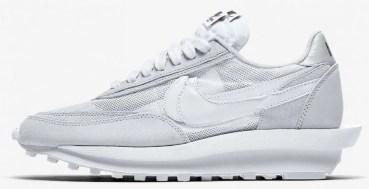 "Sacai x Nike LDWaffle ""Triple White"""