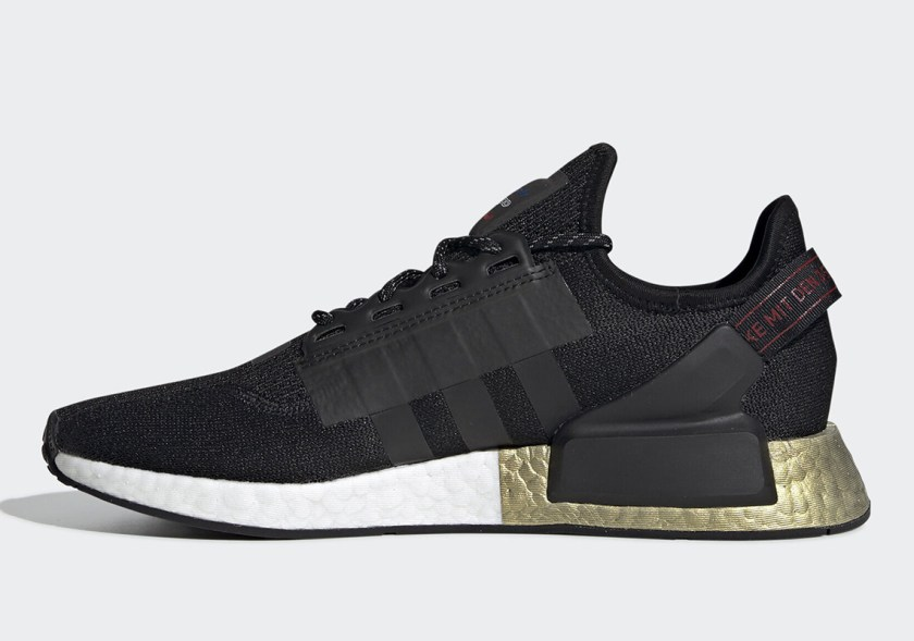 Adidas NMD R1 V2 with arch like heel