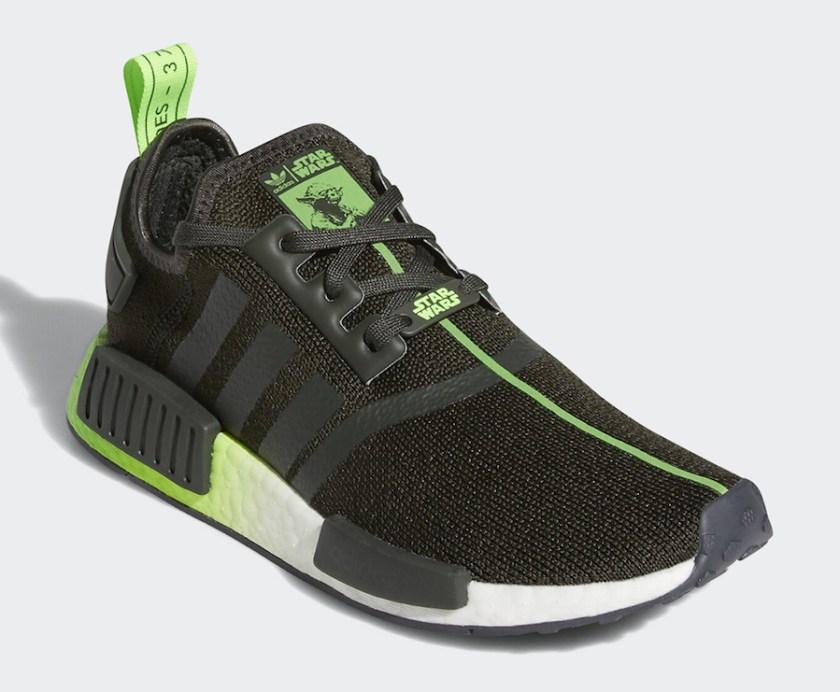 Adidas NMD R1 Yoda with Black