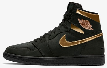 Air Jordan 1 High OG Black Metallic Gold