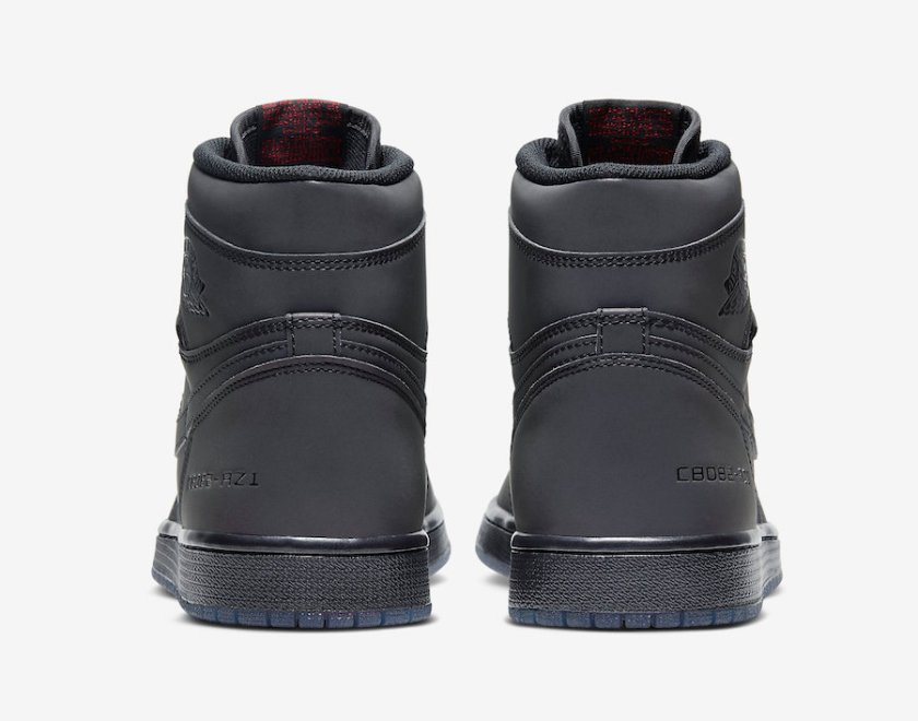 Air Jordan 1 High Zoom Fearless with Reflective effect