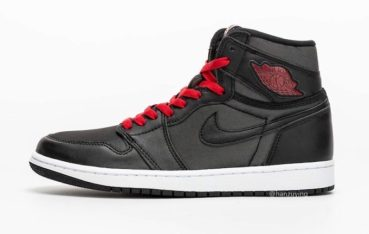 Air Jordan 1 Retro High OG Black Satin
