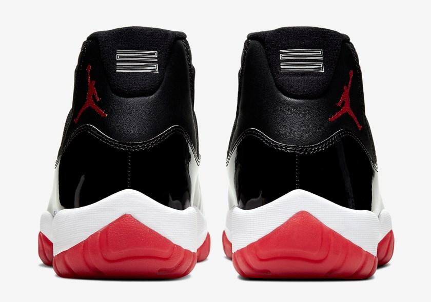 Air Jordan 11 Retro with ballistic nylon material