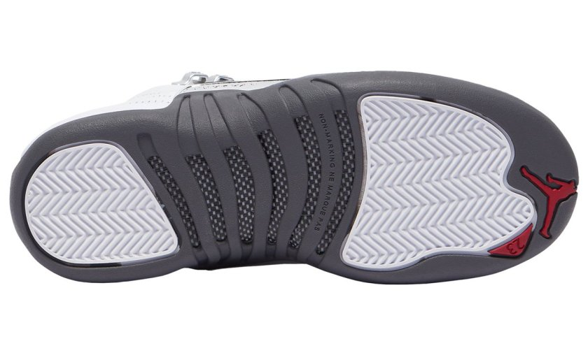 Air Jordan 12 White Grey with Comfortable and suitable for rainy weathers