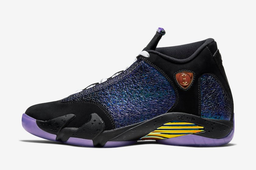 Air Jordan 14 with Eye-catching design