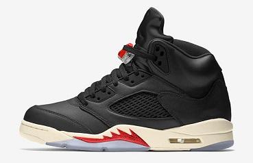 Air Jordan 5 SP Black Muslin