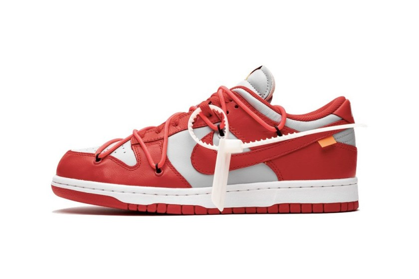 Nike Dunk Low with University Red