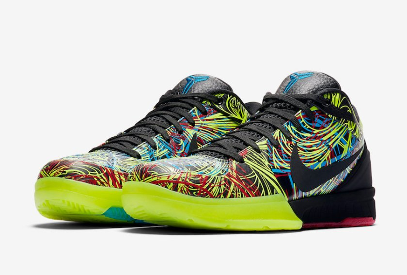 Nike Kobe 4 with colorful front