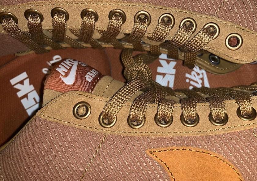 Nike SB Blazer with heel tab