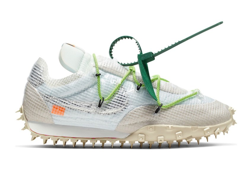 Nike WMNS Waffle Racer White with Incredible use of colors