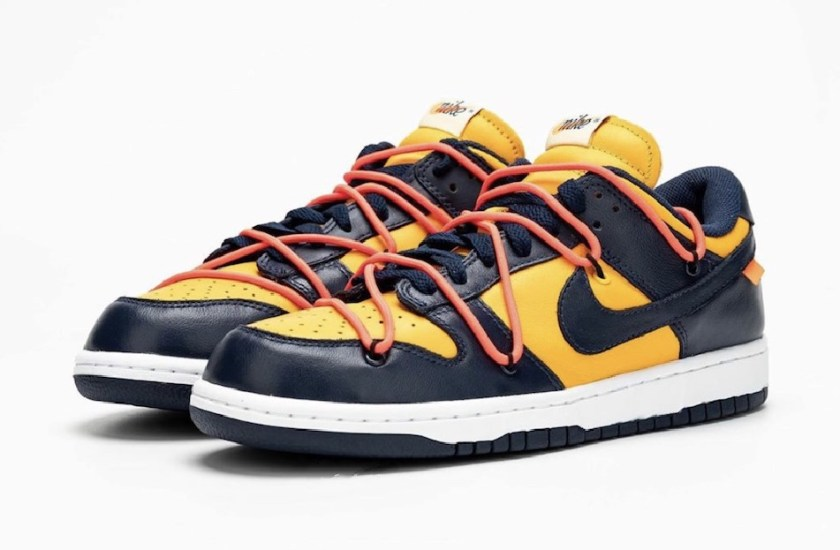 Nike Dunk Low with different color combinations