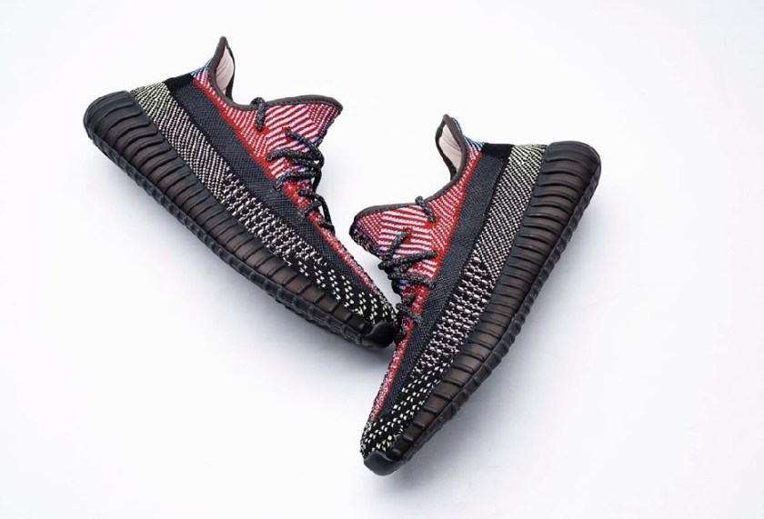 "Yeezy 350 Boost V2 ""Yecheil"" with Incredible use of colors"