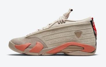 CLOT x Air Jordan 14 Low Terracotta