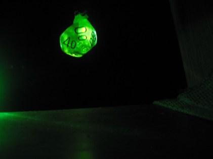 D10 glow necklace