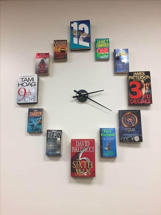 Book Clock Gift Idea
