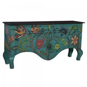 floral sideboard Upcycle Ideas