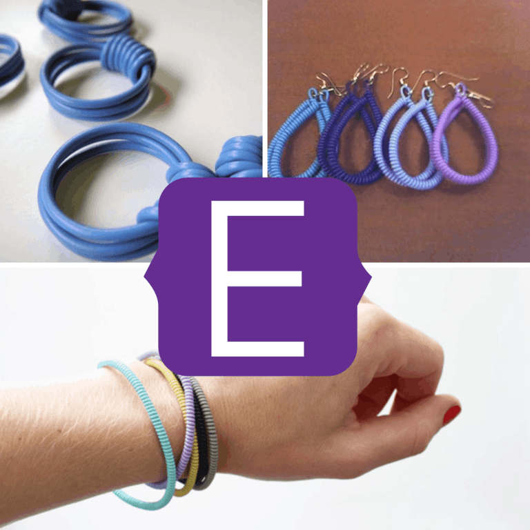 electric cable jewellery
