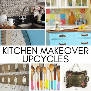DIY Kitchen Makeover Upcycle Ideas