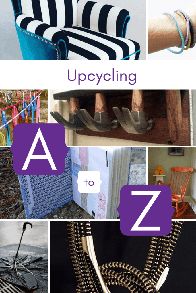 a to z of upcycling ideas