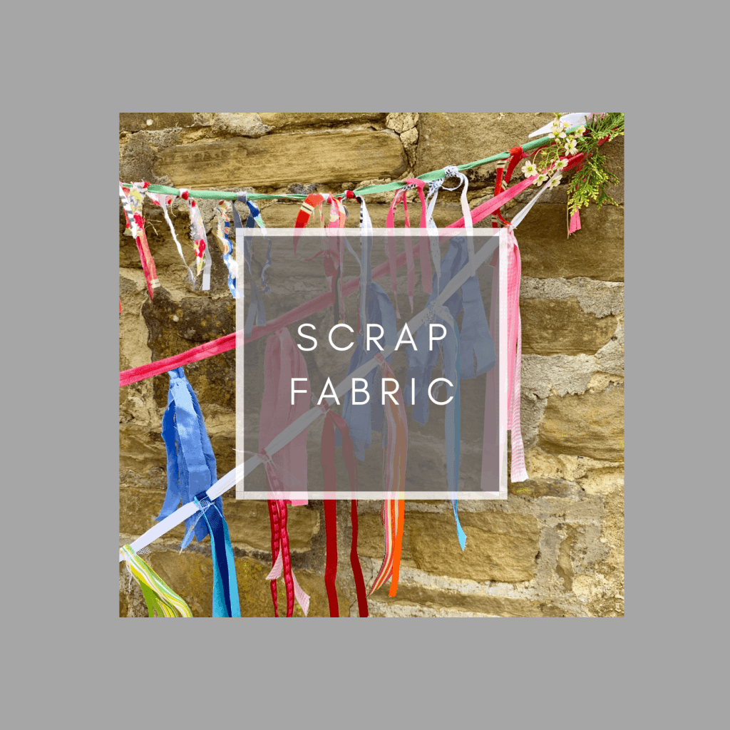 scrap fabric upcycles