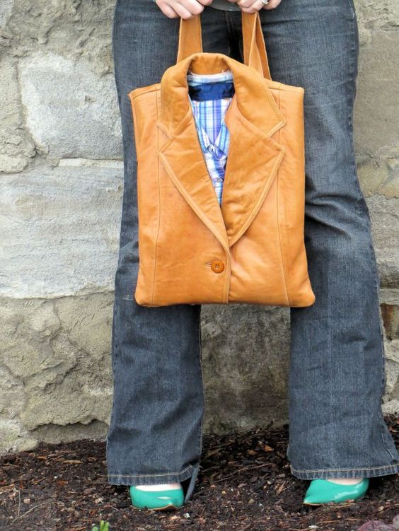 suit jacket bag