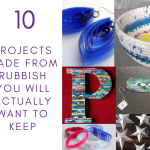 DIY Projects made from rubbish