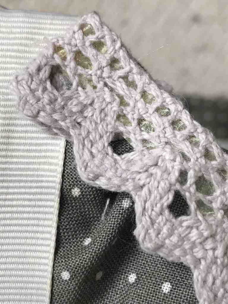 sticky back lace trim