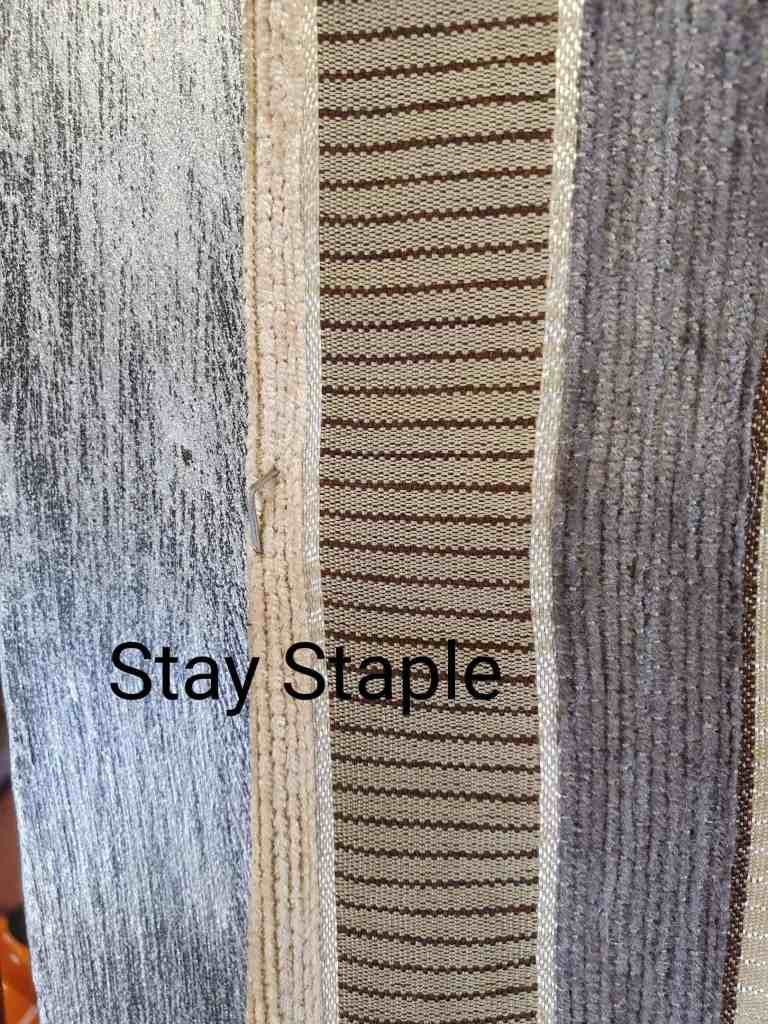 upholstery tutorial stay staples