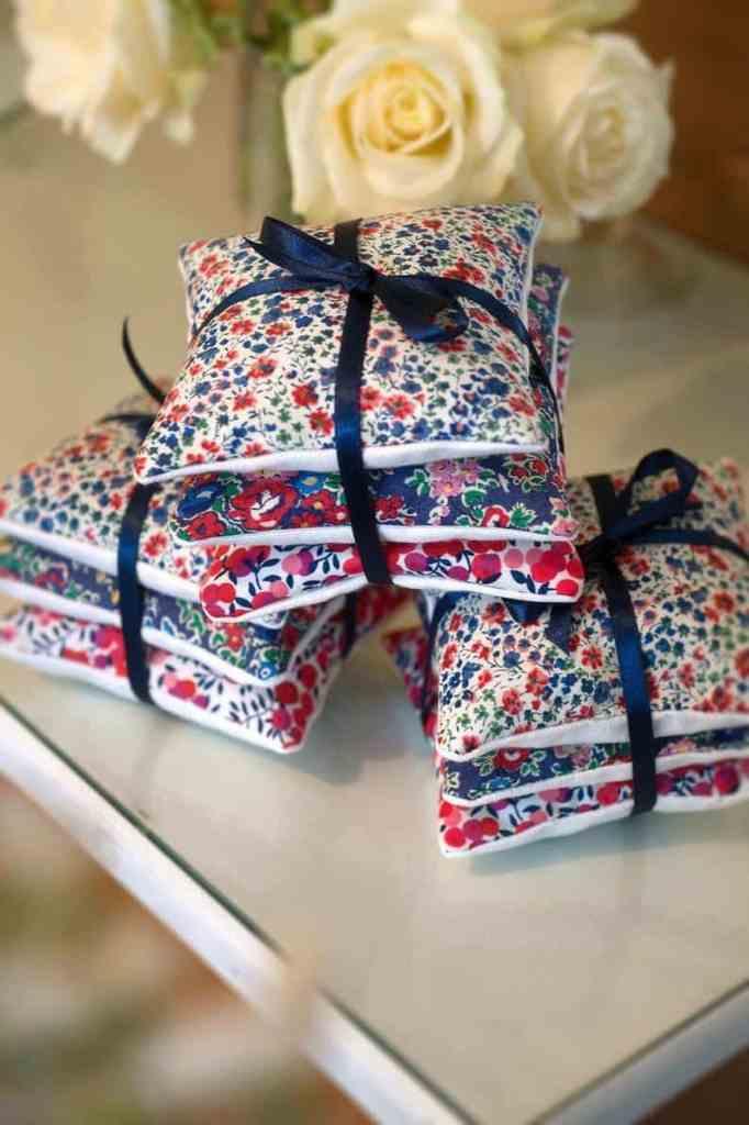 liberty fabrics scrap fabric lavender sachets