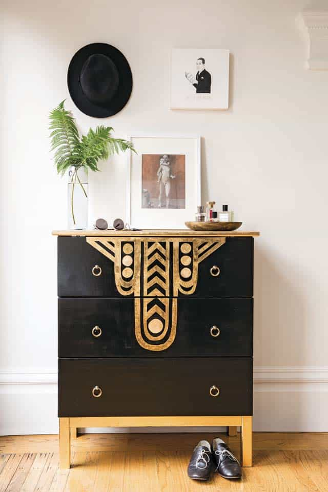 Art Deco furniture makeover
