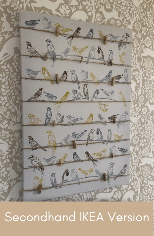 IKEA photo display board