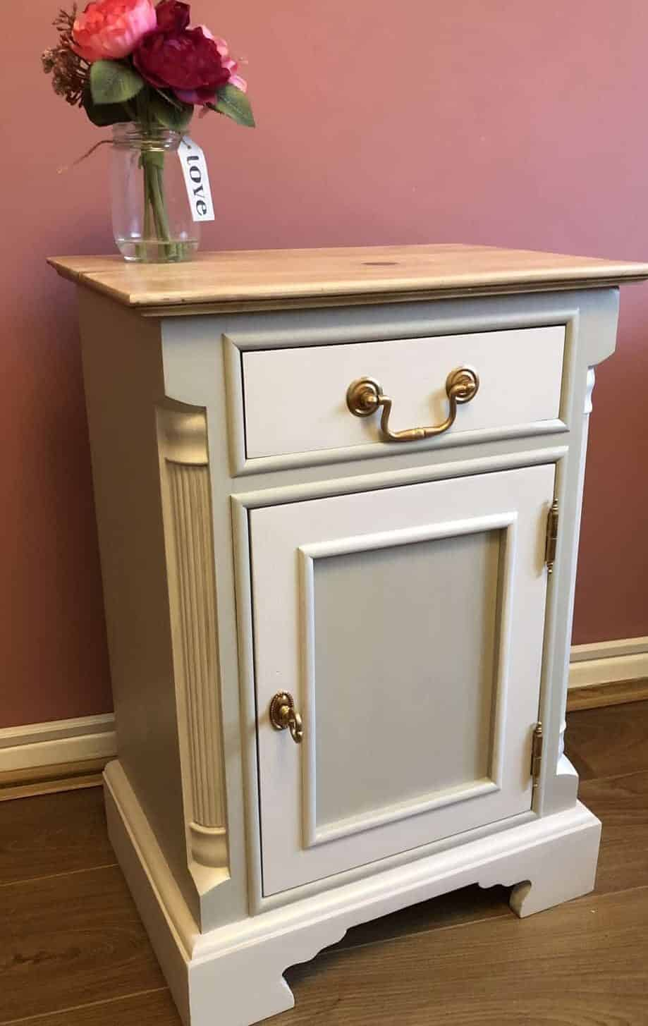 painted furniture makeover