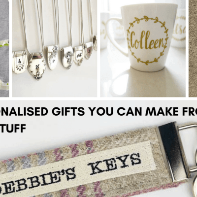 10 DIY Personalised Gifts You Can Make From Your Upcycled Stuff!