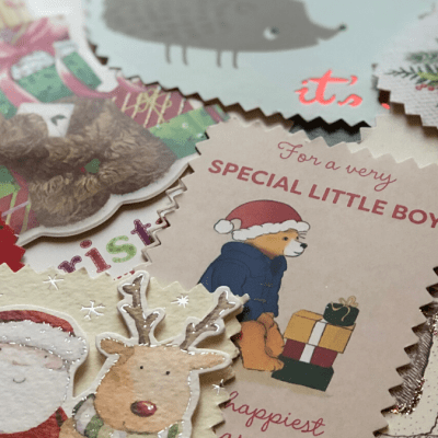 How to Reuse Christmas Cards as Gift Tags