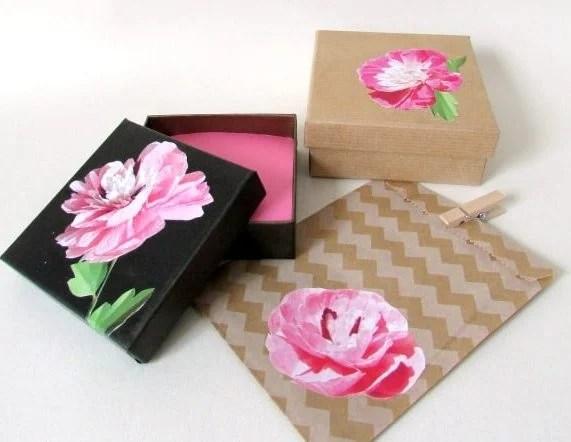 decoupaged gift box