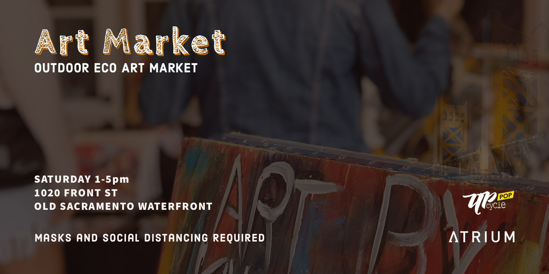upcycle pop sacramento art market