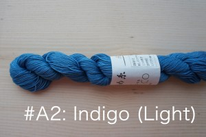 A2 Indigo Dyed thread