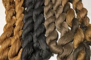 Kakishibu Dyed Thread Covor 2