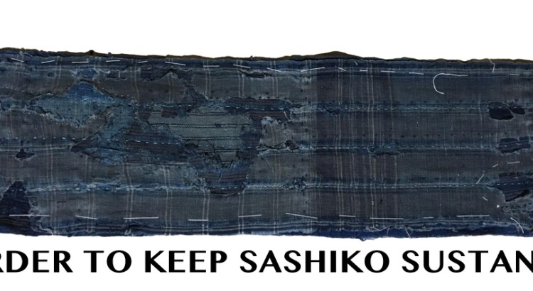 Sustainable Sashiko Tutorials