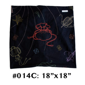 14 Takara Sashiko Cushion Cover