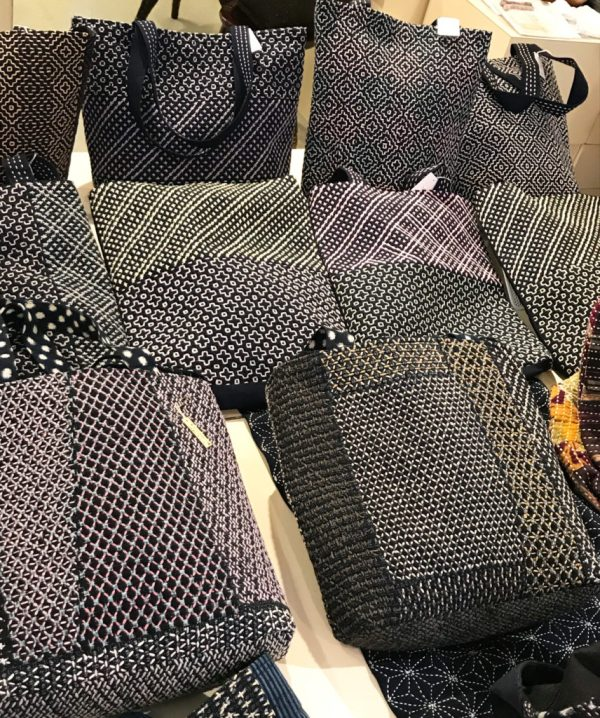 Sashiko Exhibition Report 3 Bags