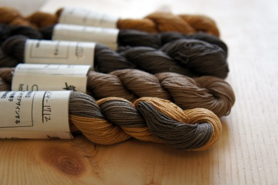 Kakishibu Dyed Thread K_1712
